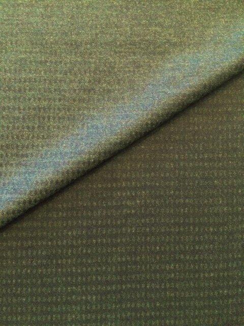 Dk Grn & Blk Reversible Boxes Wool