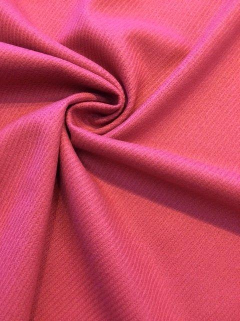 Pink Medium Weight Loose Gabardine Weave