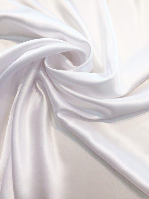 White Silk Charmeuse