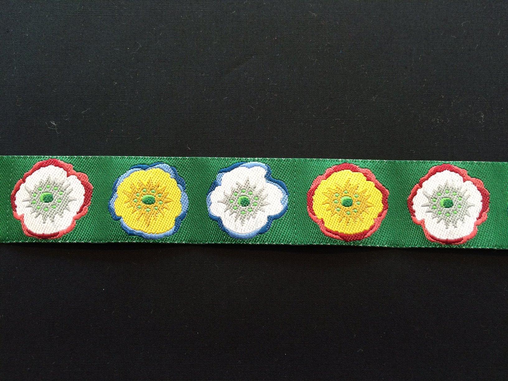 Solo Poppy in Green Ribbon