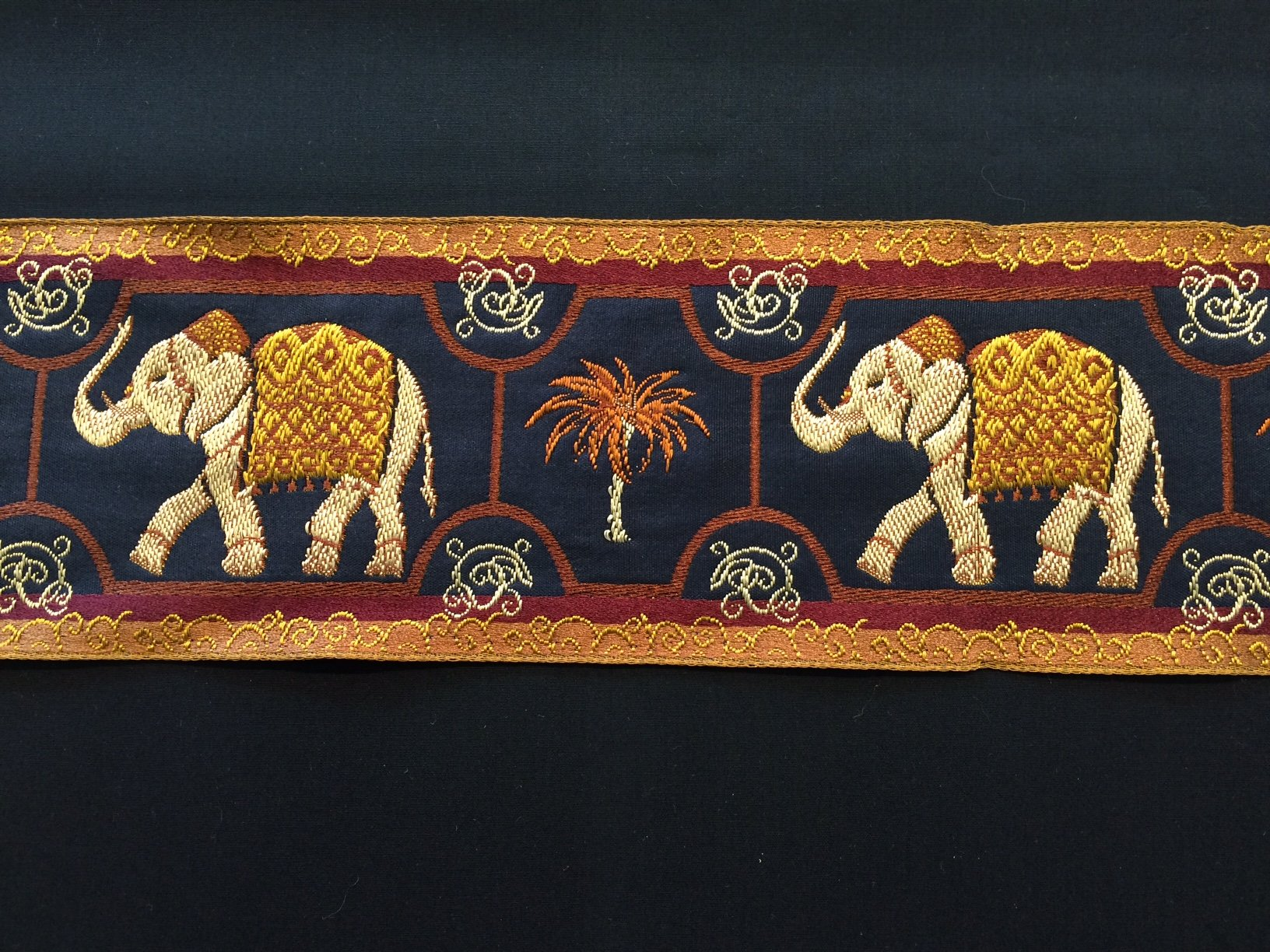 Elephants on Parade in Gold
