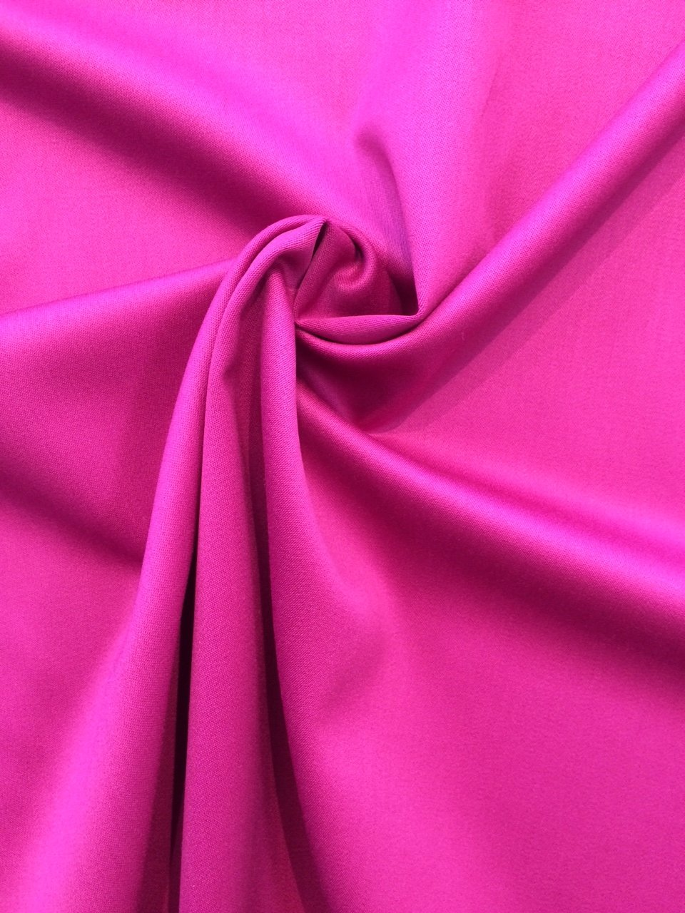 Magenta Sateen Wool