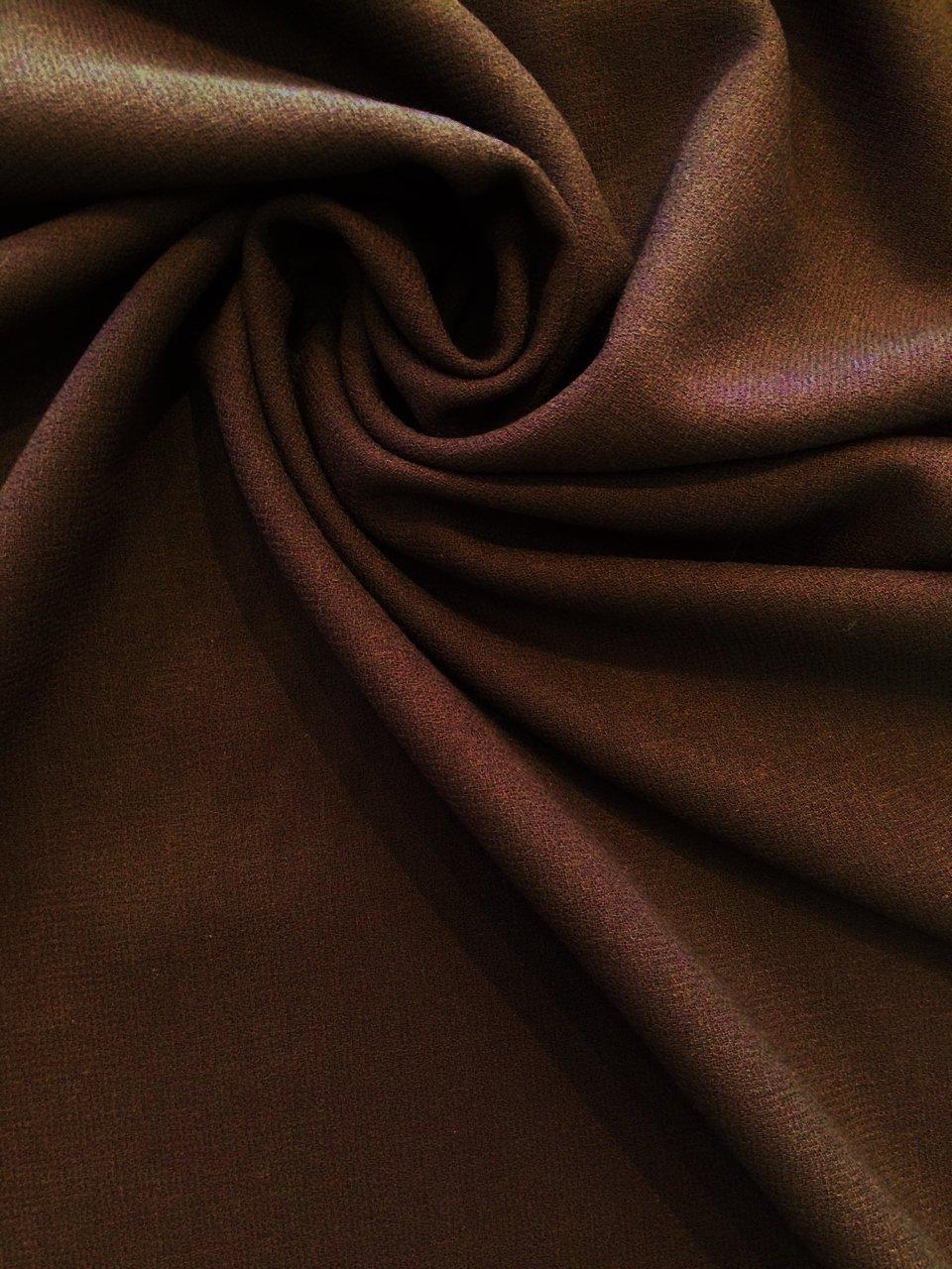 Midnight Purple Bi Weave Gabardine