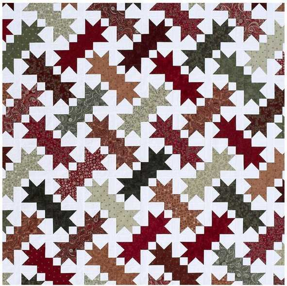 Snow Shoes Quilt Kit