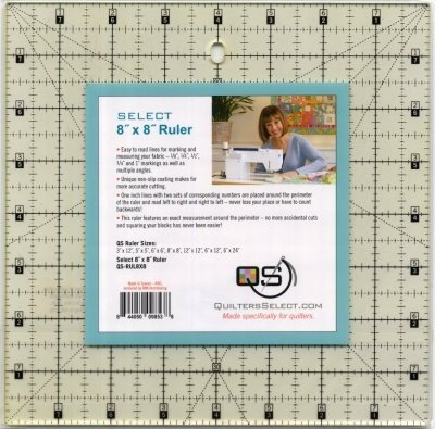 Quilter's Select Ruler 8 x 8