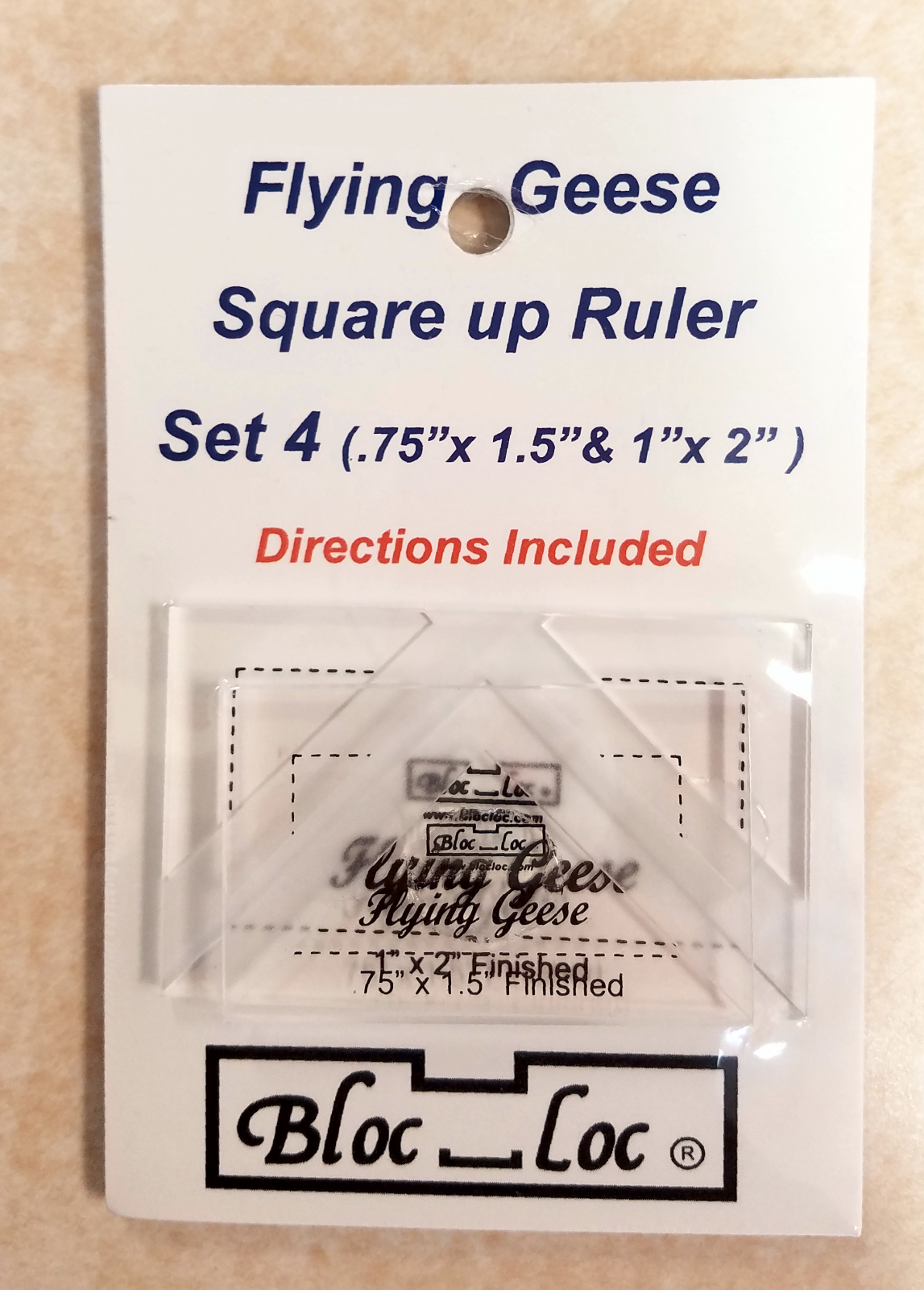 Bloc Loc Flying Geese Ruler Set #4