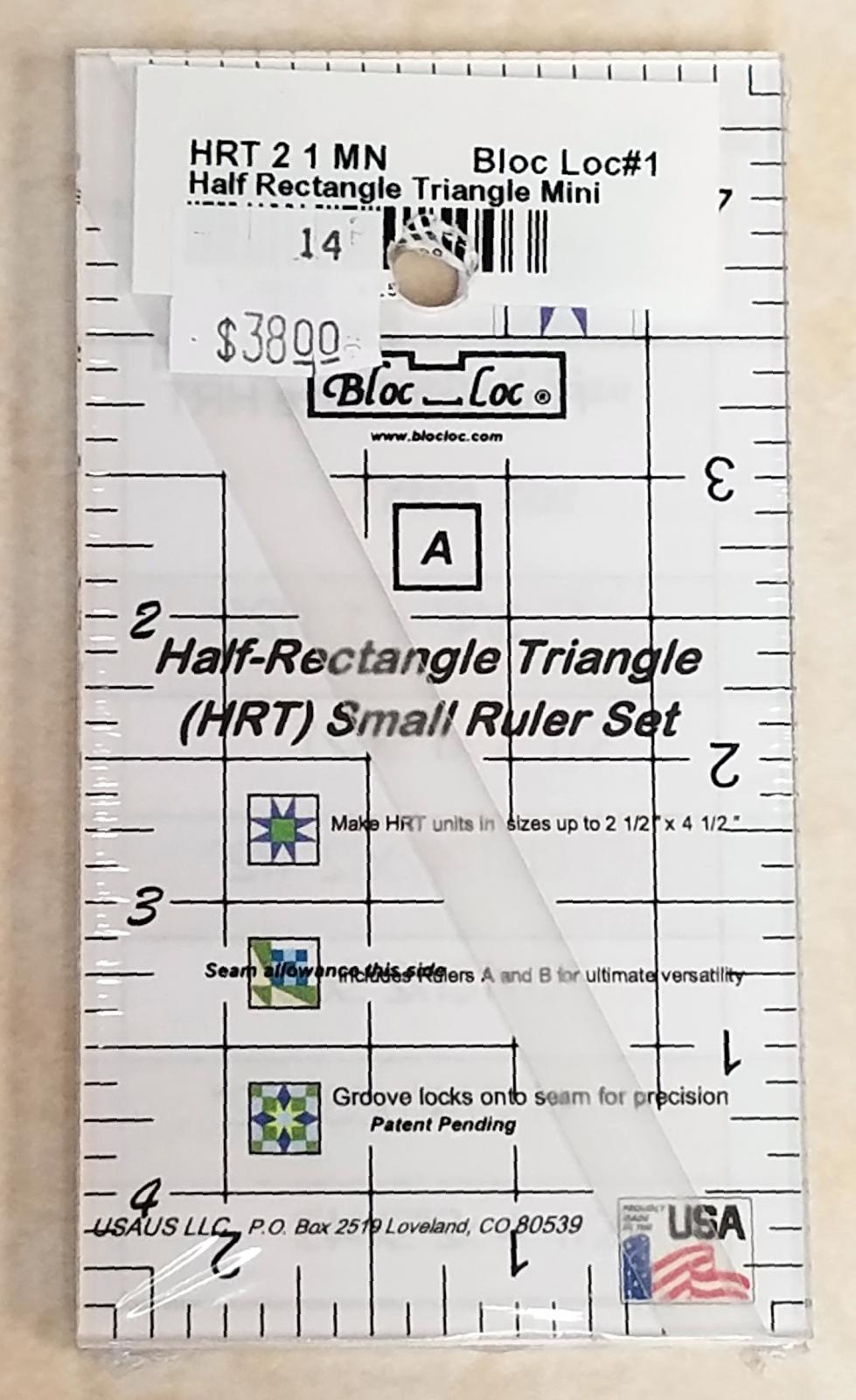 Bloc Loc Half Rectangle Triangle 2:1 Mini Set