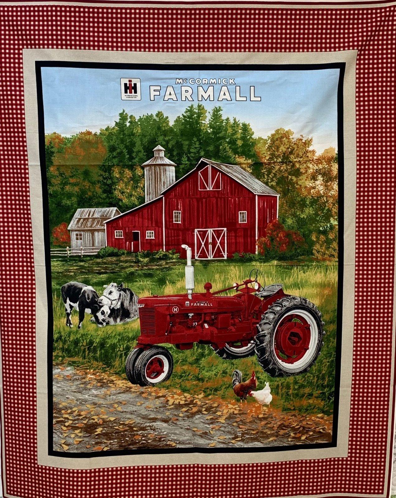 Farmall Farm Scene