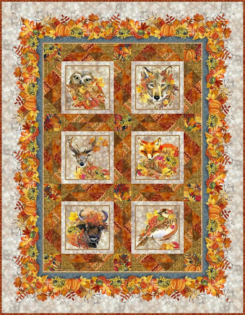 Our Autumn Friends Quilt Kit