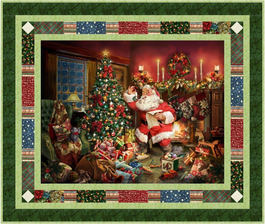 Postcard from St. Nick Quilt Kit