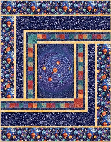 Out Of This World Quilt Kit