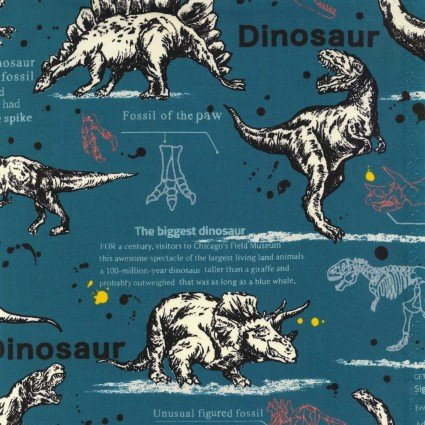 Kokka, Dinosaur, Oxford, KOKLOA-59060-2-C
