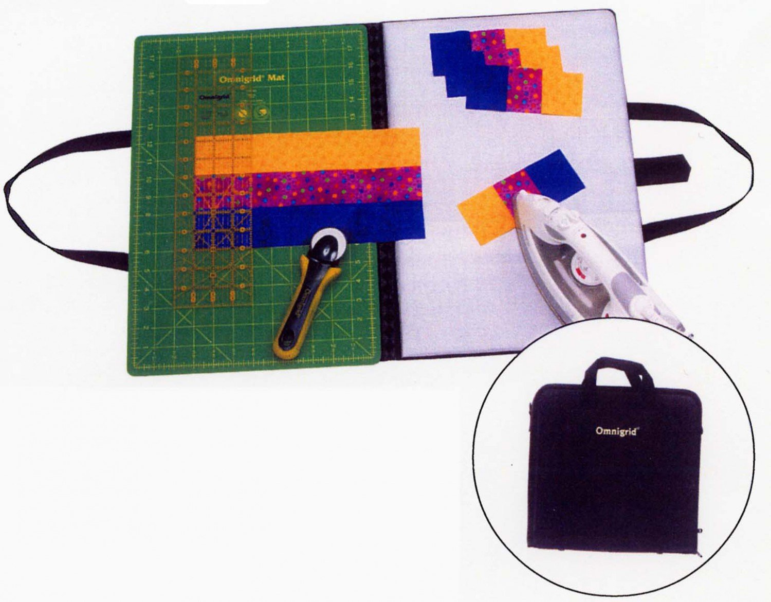 12 by 18 Omnigrid Folding Mat and Ironing Board