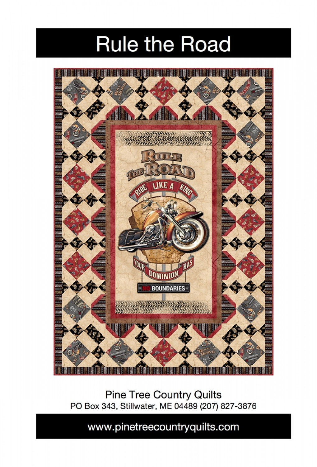 Rule The Road Quilt Kit