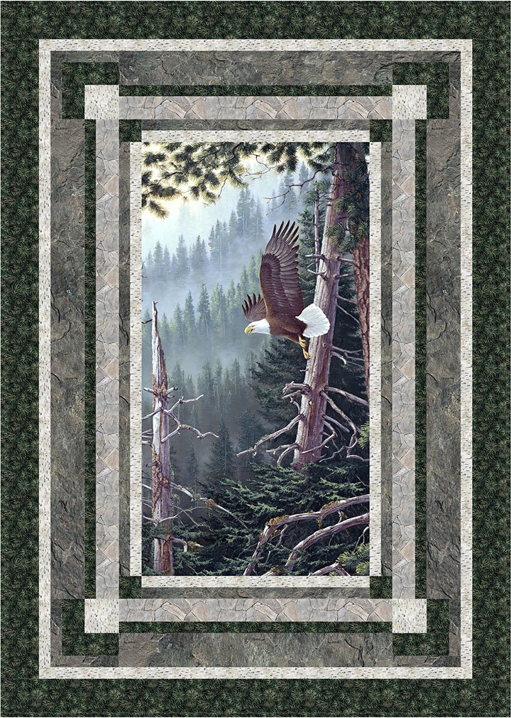 Forest Aviator Quilt Kit