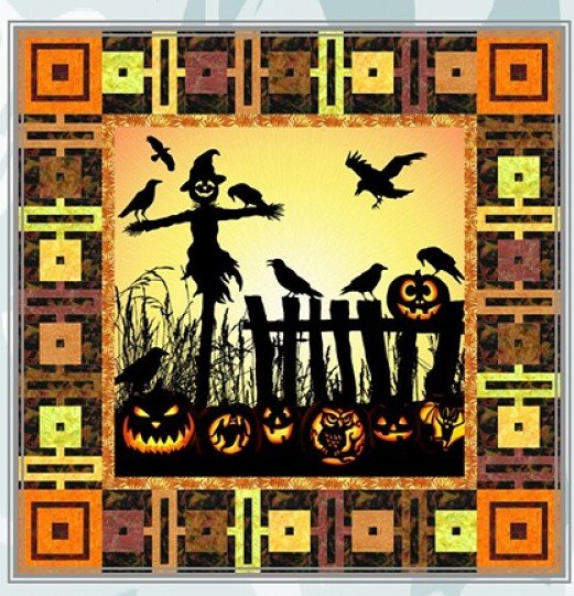 Harvest Scarecrow Quilt Kit