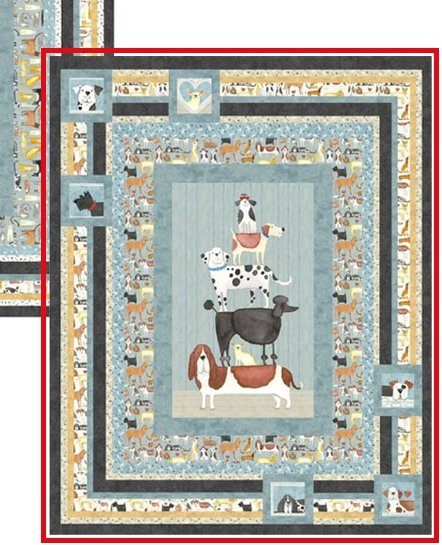 Stinky Kisses Quilt Kit