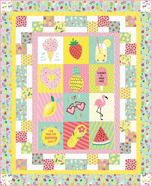 Summerlicious Quilt Kit