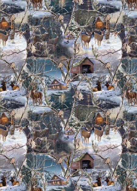 Realtree Winter Scenic Allover*