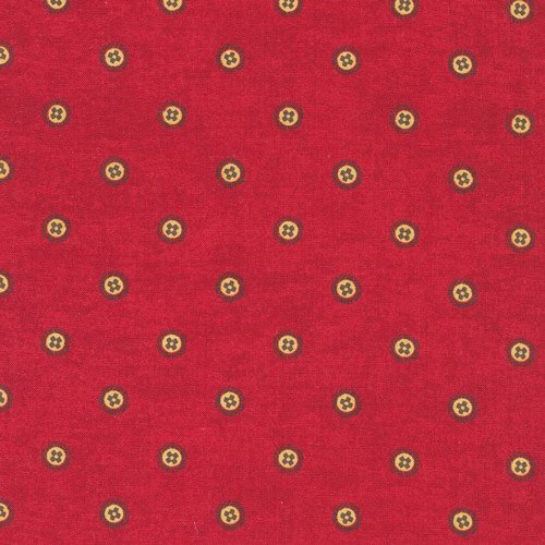 Buttons Dk Red-Waddington Road*