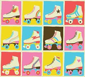 Roller Skates Let The Good Times Roll