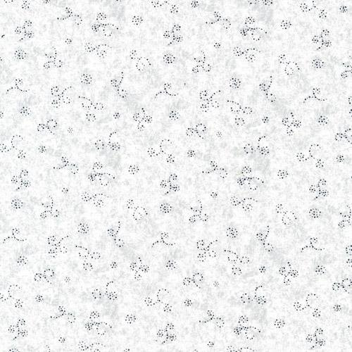 Dot Swirls Silver Classique