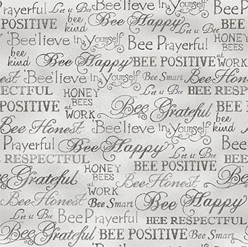 Words Grey Bee Kind