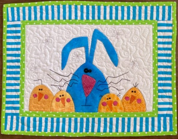 Hello Spring Wallhanging Fabric Kit 12 1/2 x 17