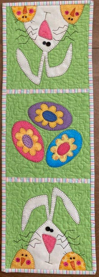 Hello Spring Runner Fabric Kit 9 x 26