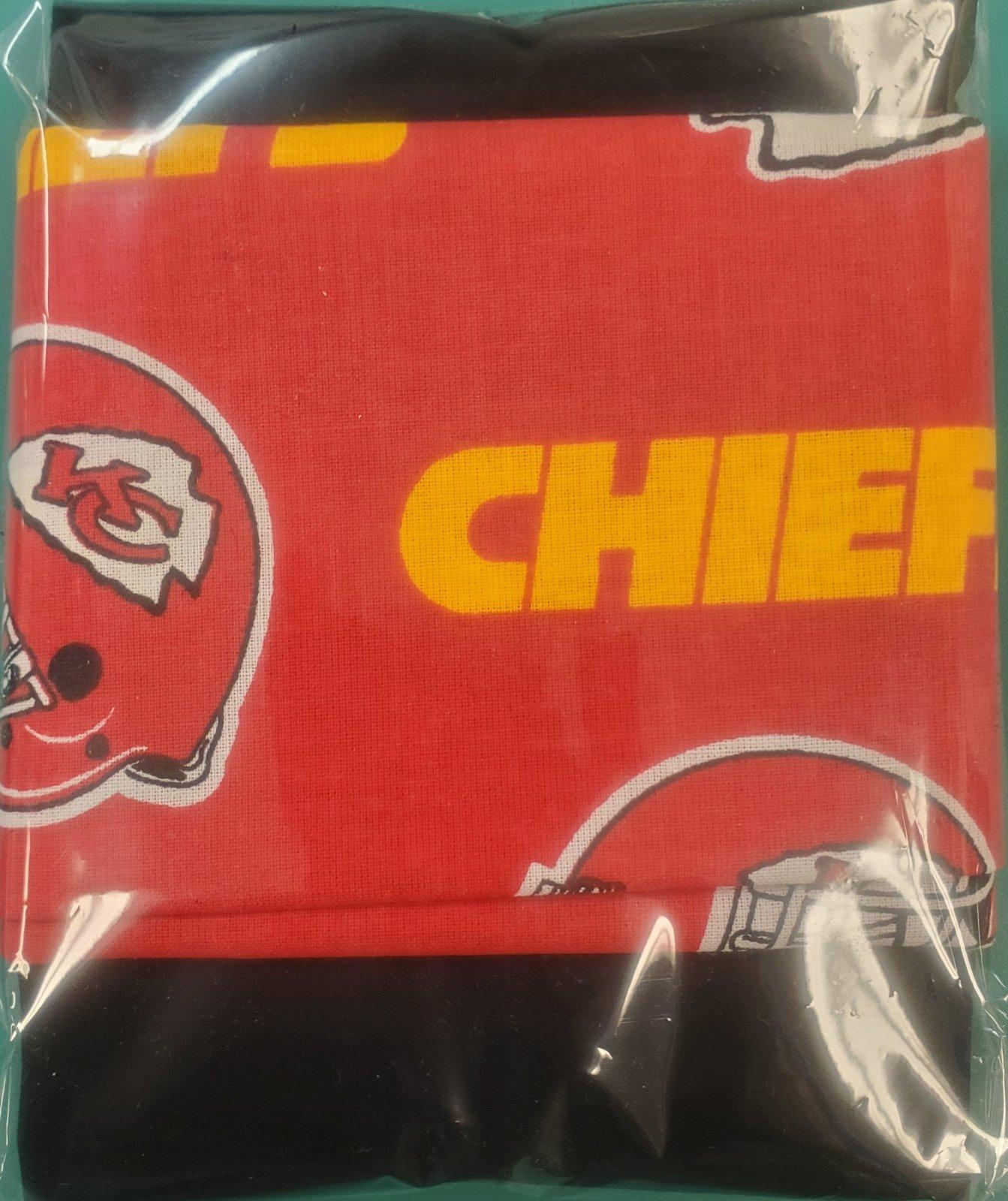 Chiefs Bowl Cozy Fabric Kit (Makes 4 Bowls)