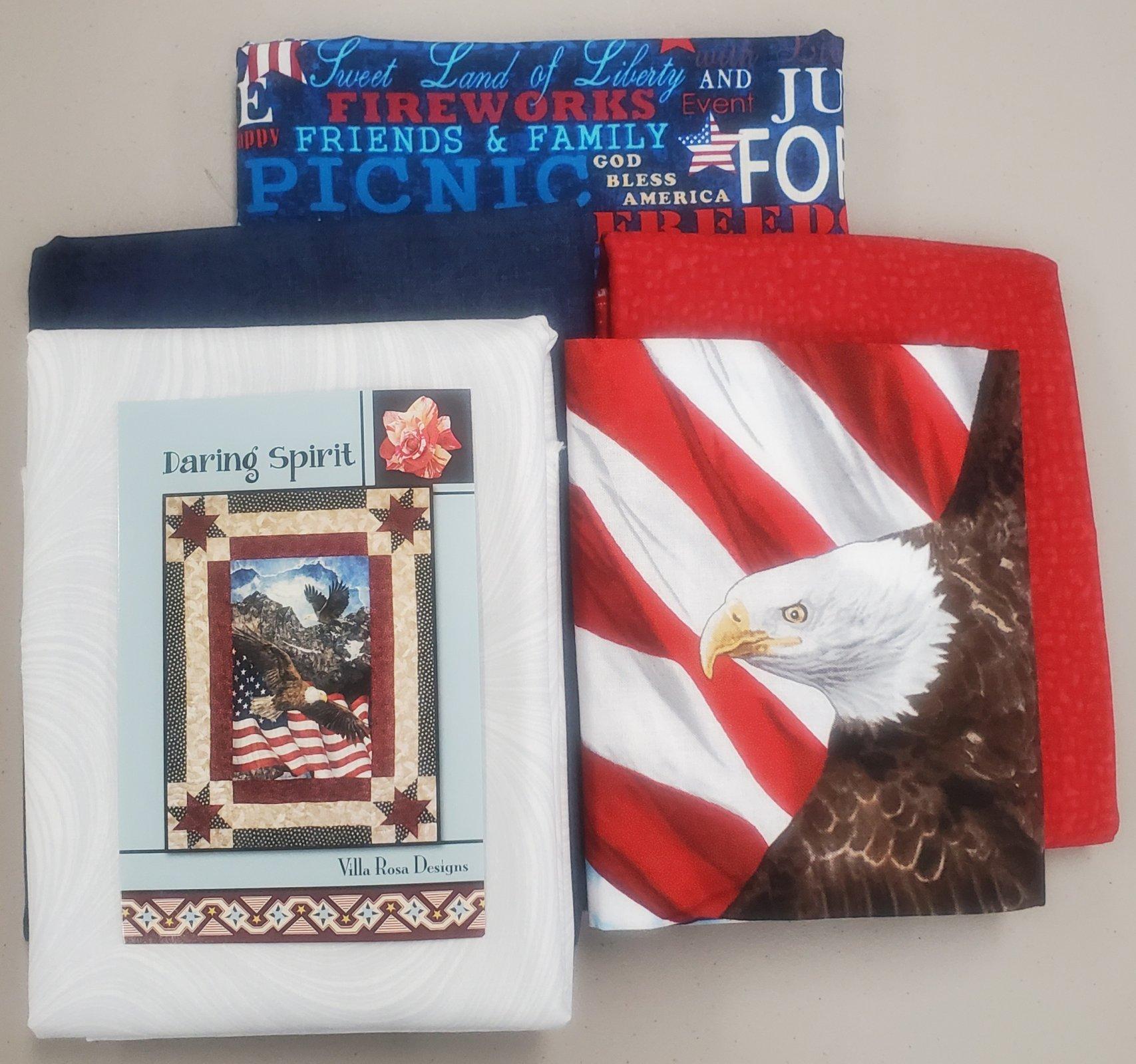Daring Spirit Eagles Kit 63 x 81