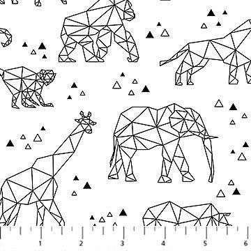 Animal Outline B&W - Zoometrics