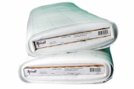 Quilters Grid 2-1/2in Fusible Nonwoven Interfacing 48in Bosal