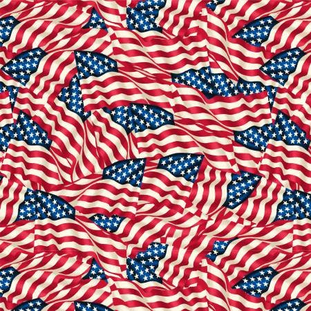 American Flags 108 by Windham