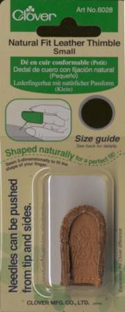 Natural Fit Leather Thimble Small*