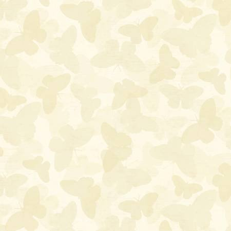 Butterflies Cream Tonal