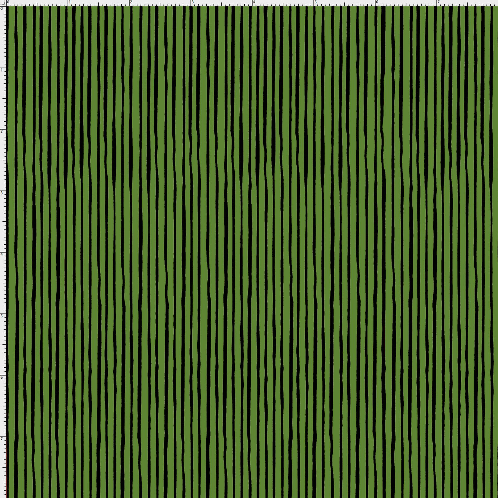 Quirky Pin Stripe Forest Green
