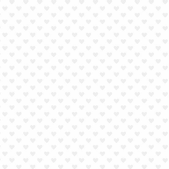 Hearts White on White