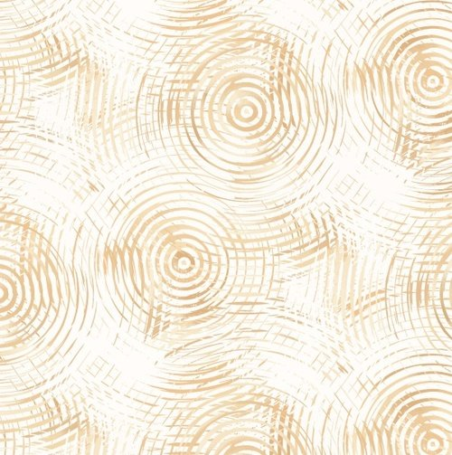 Cream Ombre 108 Circle Play Wide Back
