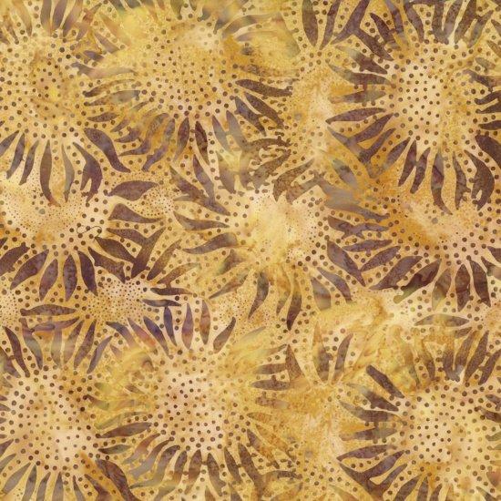 Amber Sunflower Batik