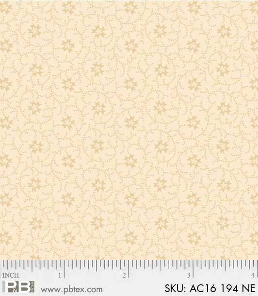 Natural Dotted Small Scroll*