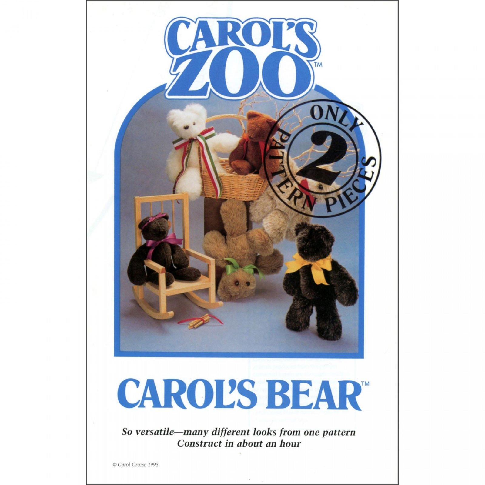 Carol's Bear Pattern