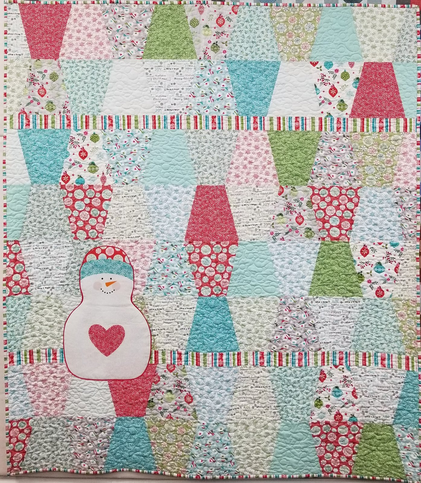 Hearty The Snowman 60x68