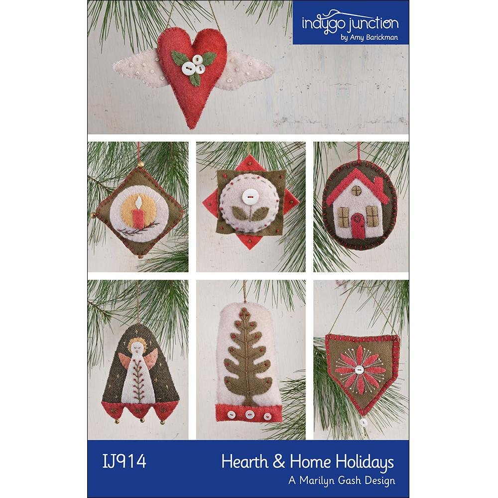 Hearth & Home Holidays Pattern