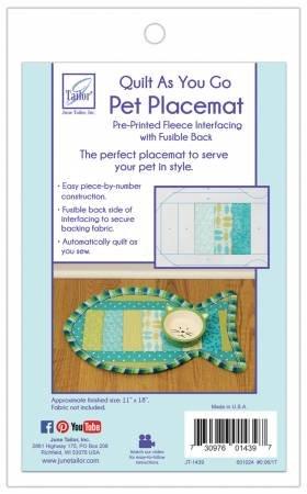 Pet Placemat Cat Fish Quilt As You Go