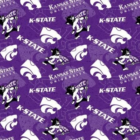 Kansas State Wildcats Tone on Tone NCAA