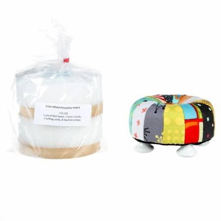 Color Wheel Pincushion Kit Parts