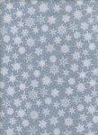 White Small Snowflakes on Gray