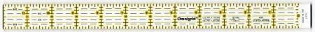 Omnigrid Ruler 1in x 12 1/2in