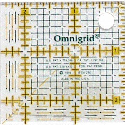 Omnigrid 2.5 X 2.5 Ruler
